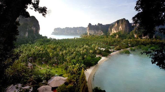 Rayavadee Resort - Krabi, Thailand. We say Top Destination. Read more at jebiga.com #rayavadee #resort #travel #hotels #thailand #krabithailand