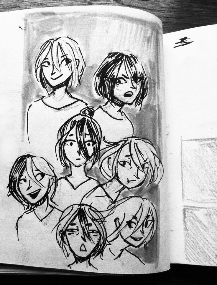 Sketches by Madjsteie.deviantart.com on @DeviantArt