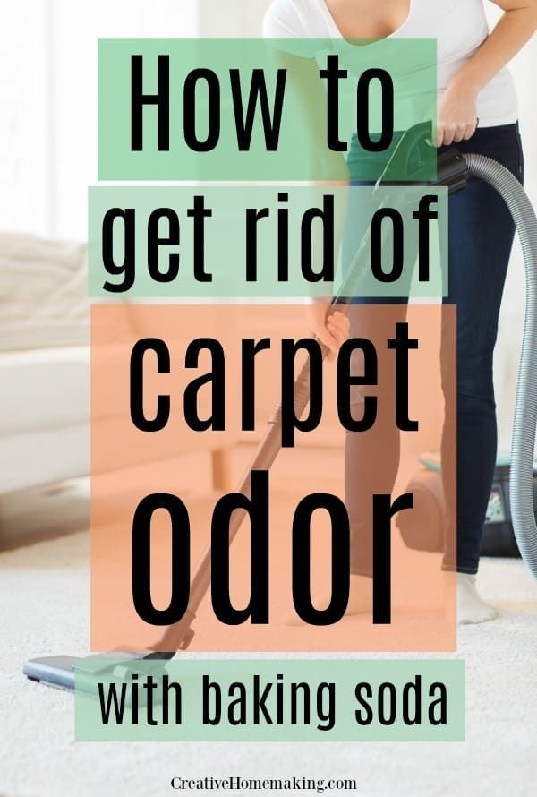 How To Get Rid Of Carpet Odor With Baking Soda With Images