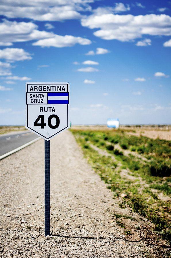 cartel de la maravillosa ruta 40