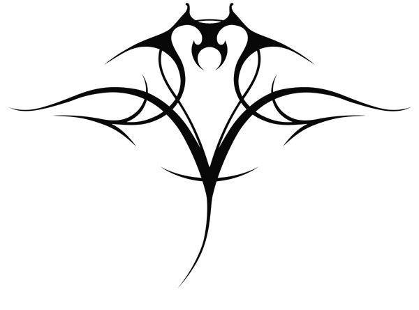 Значение тату скат