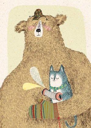 Pinzellades al món: Il·lustracions d'ossos / Ilustraciones de osos / Bear illustrations (2)