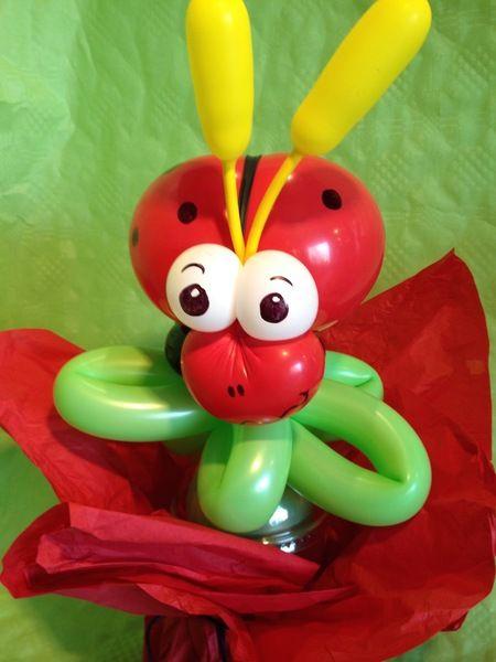 Marienkäfer aus Modellierballons von sweet-little-monsters auf DaWanda.com