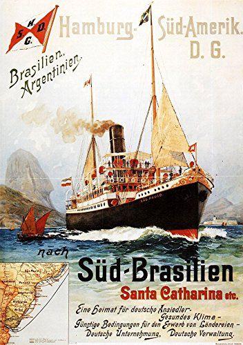 'Hamburg - Sud-Amerik D.G.' - Wonderful A4 Glossy Art Pri... https://www.amazon.co.uk/dp/B01J56KO3W/ref=cm_sw_r_pi_dp_6RkMxbAFR5DNP