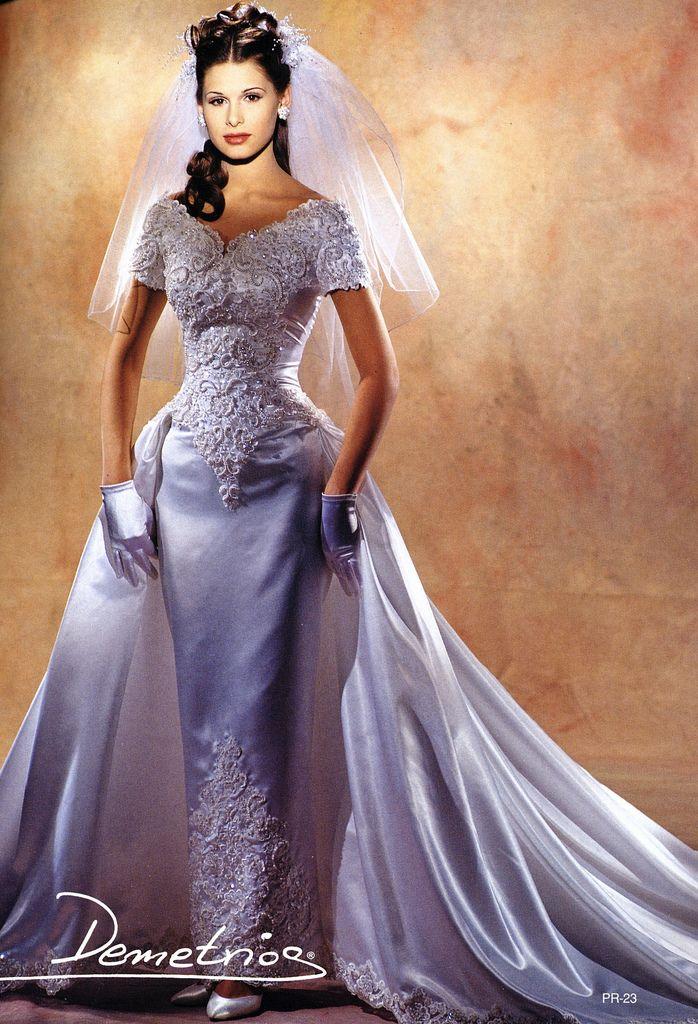 17 beste afbeeldingen over 1990 wedding gowns op pinterest for Vintage wedding dresses san diego