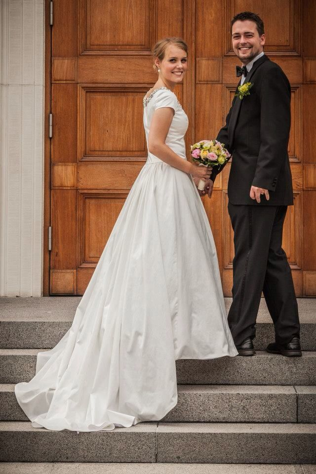 My daughters beautiful weeding dress was designed by Designer Ane Marie Kofod