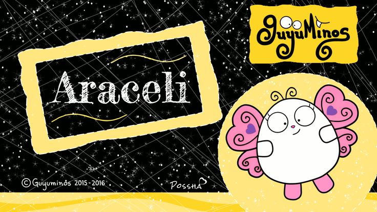 "Hola Araceli... Tu Nombre al estilo Guyuminos! Sabías que Aracely proviene del Latín y significa ""Altar del Cielo"" Variantes: Aracelis, Aracely, Arcelia. Diminutivo:Chely, Ara :D * Araceli Means ""altar of the sky"" from Latin ara ""altar"" and coeli ""sky"" #aracely #nombres #significado #guyuminos #mariposa"