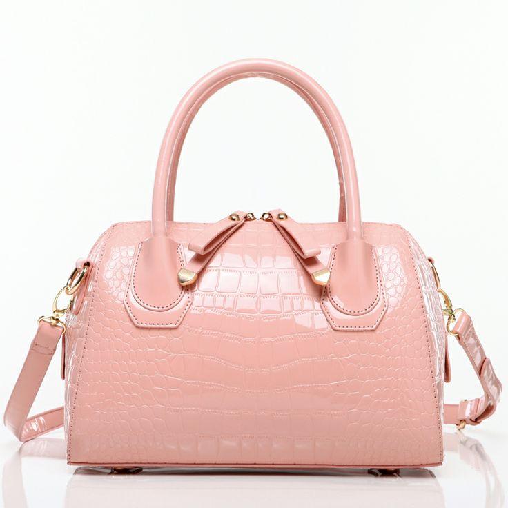 The new 2014 crocodile grain handbag A fashionable woman messenger bag Ms summer women clutch high-grade PU bag € 14,17