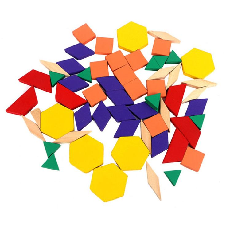 2016 Hot Colorful Kids Baby Wooden Tangram/Jigsaw Board Cartoon Geometry  Puzzle Early Learning Educational Toy VBF05 T10 0.5