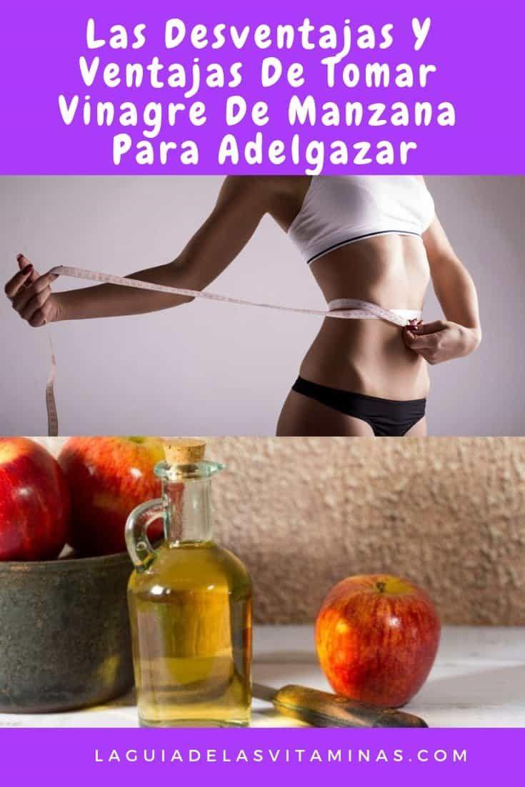 Como se debe tomar el vinagre de manzana para adelgazar