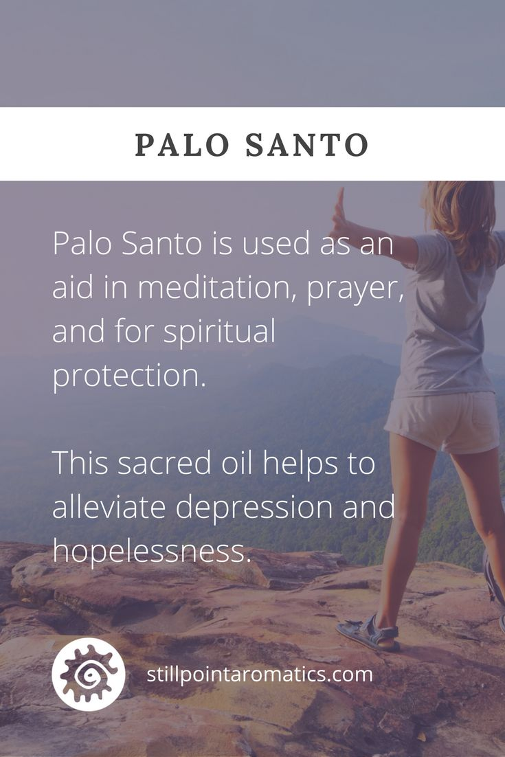 Through the lens of Vibrational Aromatic Medicine, Palo Santo is considered to be a sacred oil. It's referred to as Holy Wood, Sacred tree, Palo de la vida o Santo, and St. Anthony's wood.