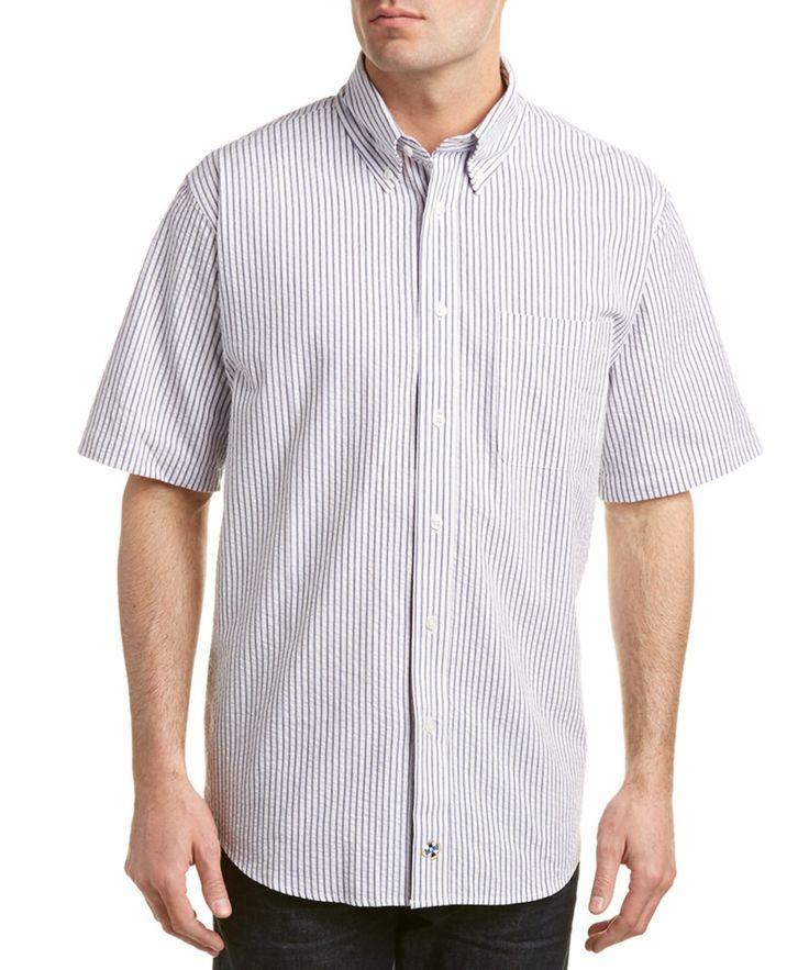 Cast Away Castaway Chase Seersucker Woven Shirt - On sale: $31.99