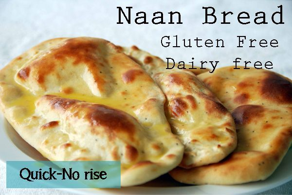 Gluten Free Naan Bread  Quick  No Rise