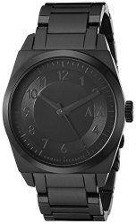 Armani Exchange Men's AX2301 Analog Quartz Black Tone Watch