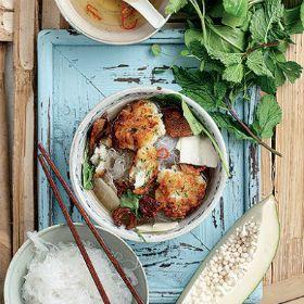 Vietnamese bun cha cha
