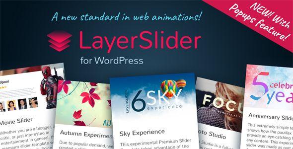 LayerSlider Responsive WordPress Slider Plugin - Price $22 - Rate 4.74 stars - Avg rate 4.74 average based on 2782 ratings.          (more information)