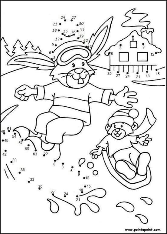 puntos esquiar mandalas dibujos juegos colorante jardn de infancia trabajo clase