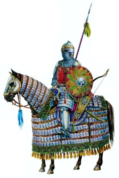 1300 - 1399 Golden Horde Tatar warrior