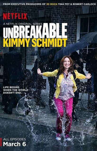 A great poster for a great show! Ellie Kemper is the Unbreakable Kimmy Schmidt dealing with life in the Big City after being rescued from a cult. Ships fast. 11x17 inches. Need Poster Mounts..?