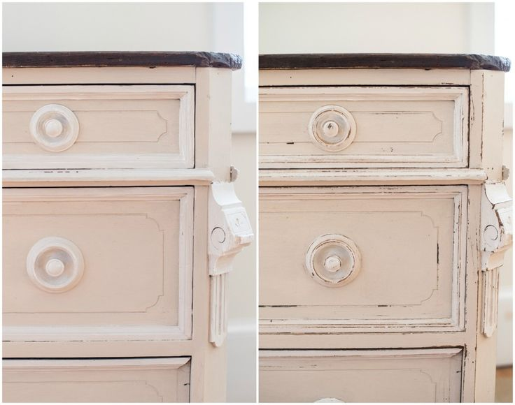 1000+ Ideas About Distressing Painted Furniture On