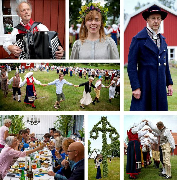 In Finland and Sweden, June 21st is the first day of a two day celebration of Midsummer Day that calls for a lot of singing, salty fish, bottomless glasses of beer, and aquavit, the local spirit distilled from potatoes. But leave the wine at home.