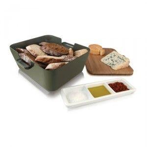 Bread & Dip kenyértartótál készlet