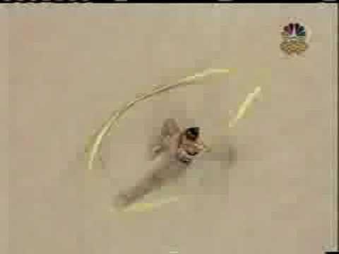 Alina Kabaeva ribbon Sidney 2000