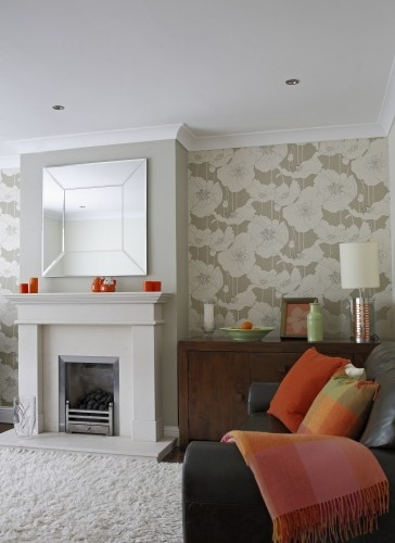 Orange Colour Accents - contemporary - living room - other metros - Optimise Design