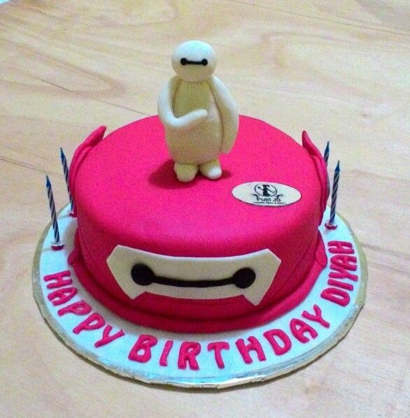 Baymax cake* Diyah b'day at Taruko