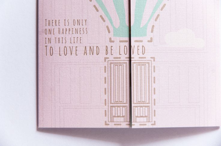 Wedding. Invitation Card | for Mabel & Isaac.