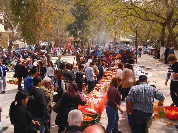 ΓΡΑΦΕΙ Η ΒΑΣΩ ΤΙΤΑΚΗ Απ' άκρη σ' άκρη της Κρήτης γιορτάζονται τα Κούλουμα με βάση τα ήθη και τα έθιμα της κάθε περιοχής.