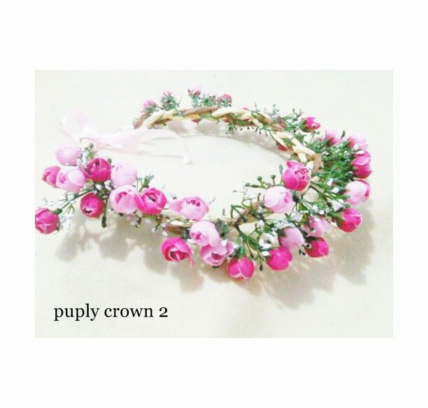 70 000 - yuk diorder yuk flower crownnya udah cantik gak pake mahal dan packingannya cantik pake kertas kado jadi bisa buat kado buat org yg kamu sayang  follow : IG @ceshaflower dankamu bisa lihat testimoni kita di IG @trustedflowercrown  twitter @agencrownmurah  web kita :  roemahflowercrown.tumblr.com ceshaflowercrown.blogspot.com ceshaflowercrown.wordpress.com  Mau pesen / tanya aja : Pin : 2b1fdd90  Sms / wa : 083857918794 Line : ceshaflowercrown  Payment : mandiri Delivery by : jne…