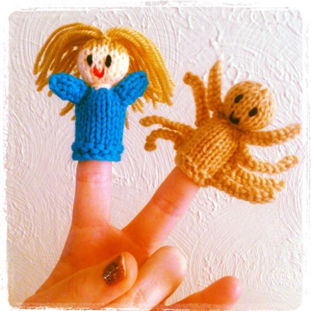 Easy Finger Puppet Knitting Pattern : Best images about knitting fingerpuppets on pinterest
