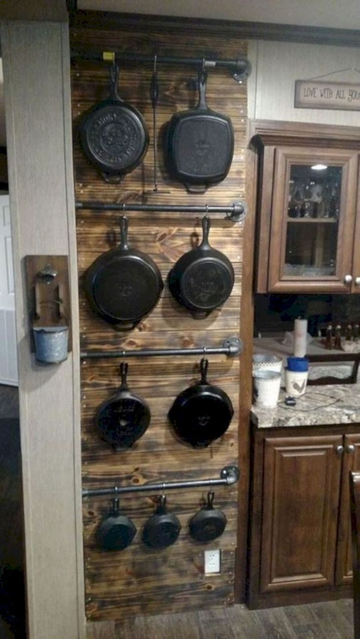 34 Incredible DIY Rustic Farmhouse Kitchen Décor Ideas