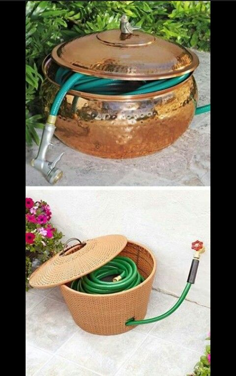 Keep Your Hose Hidden In A Hose Pot! ~ 17 Impressive Curb Appeal Ideas  (cheap And Easy!
