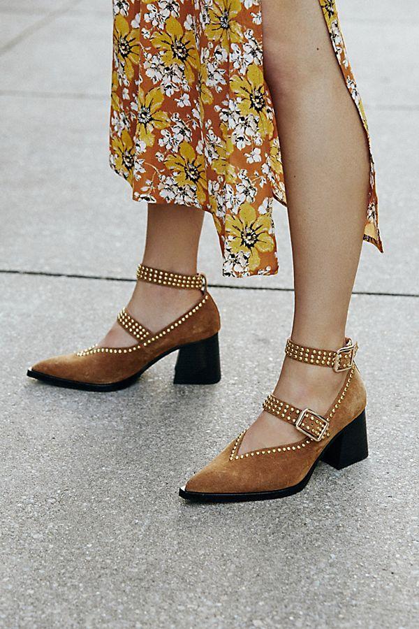 Tan suede, Jeffrey campbell shoes, Fashion