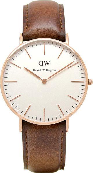 Daniel Wellington watch. Want!