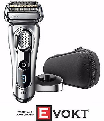 Braun 9 Series 9260S Foil Shaver Silver SyncroSonic Dual Voltage Wet&Dry Genuine