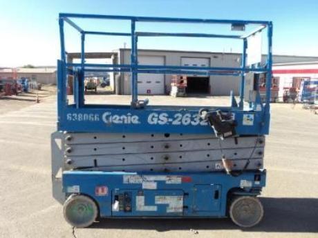 Genie Aerial Work Platforms    http://www.rockanddirt.com/equipment-for-sale/GENIE/aerial-work-platforms