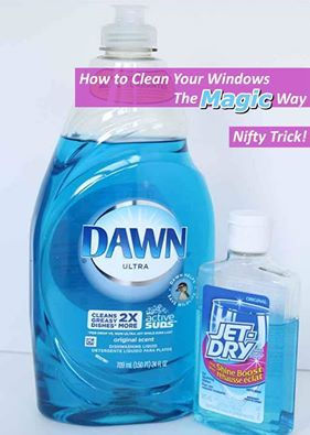 Nobody notices a clean window, but everyone notices a window with streaks and spots. If you've struggled with getting windows clean enough to not be noticed, this great tip can help you reach that goal. Just mixing two products that nearly everyone has on hand is the first step towards super quick window washing with zero streaks and spots. This trick works great for outside or inner windows and can even replace power washing detergent in hose attachments to reach those higher up windows…