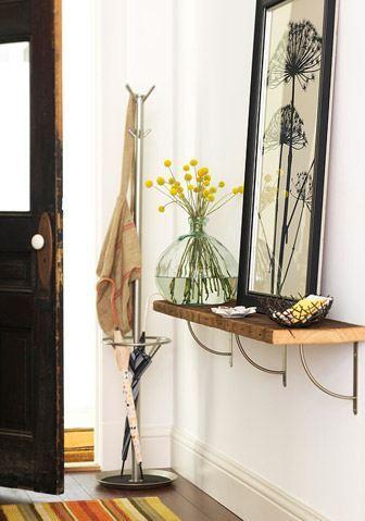 Las 25 mejores ideas sobre recibidores peque os en for Colores para apartamentos pequenos