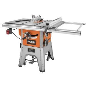 RIDGID - #R4512, 13-Amp 10 in. Professional Table Saw = $550 @ http://www.homedepot.com/p/RIDGID-13-Amp-10-in-Professional-Table-Saw-R4512/202500206#.UioutFrn_RY