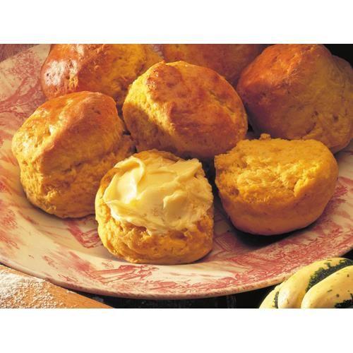 Pumpkin scones recipe - By Australian Women's Weekly, A genuine Australian classic, pumpkin scones are best scoffed warm and spread with lashings of butter.