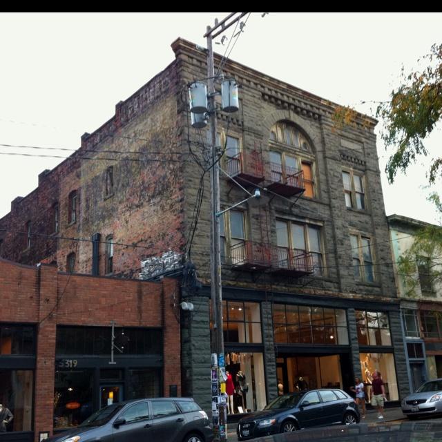 Old Brick Apartment Building: Old Brick Building In Ballard, WA