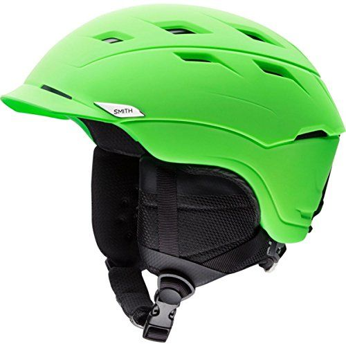 Smith Optics Unisex Adult Variance Snow Sports Helmet - Matte Reactor Green Large (59-63CM)