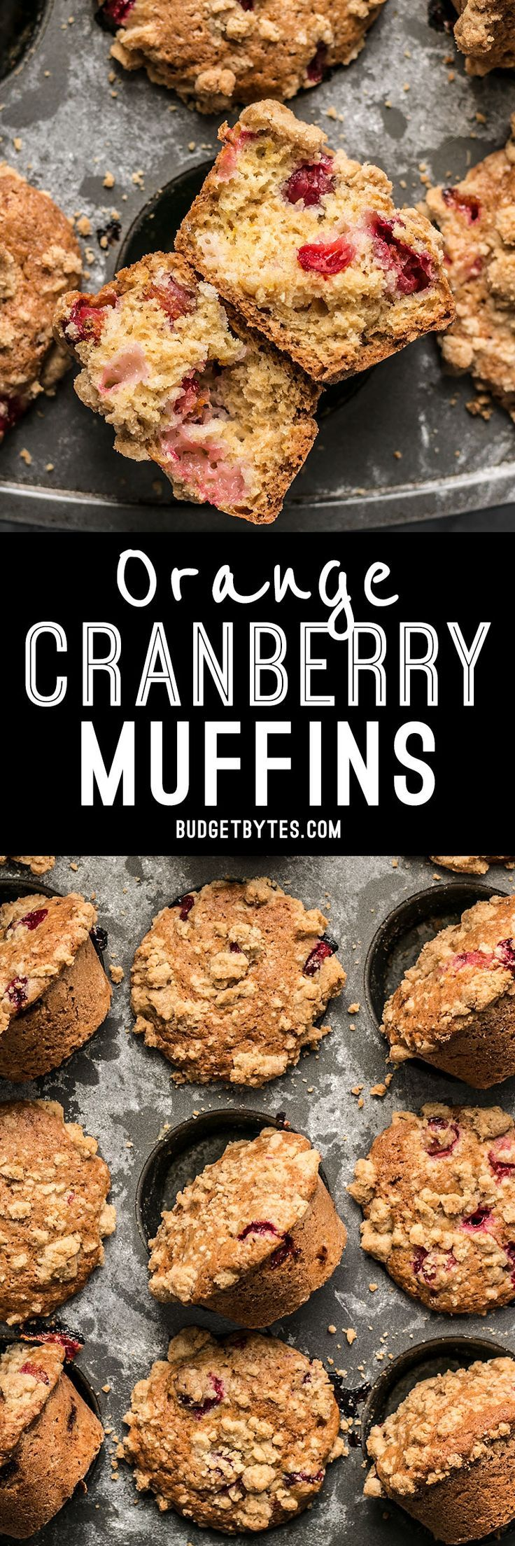 These Orange Cranberry Muffins are a holiday staple in my house and extras can be frozen for a quick treat whenever the craving hits.