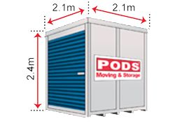 PODS moving and storage SMALL