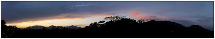 Final de tarde em Jaraguá do Sul