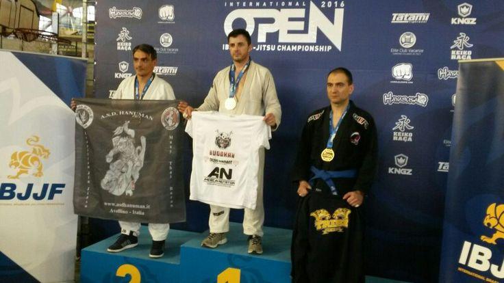 Grande argento di Massimo Iannaccone agli Open di Roma