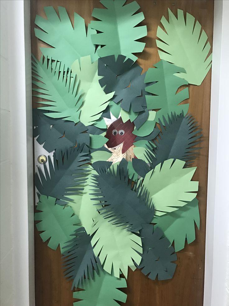 Dinosaur Door Decorations For Classroom Dinosaur